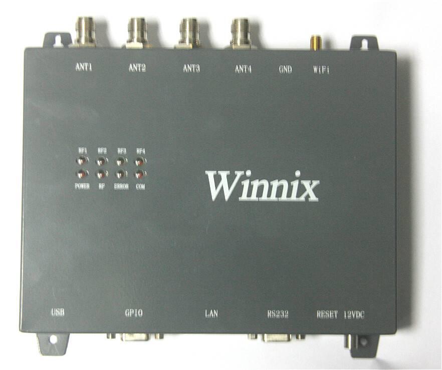 fixed type metal uhf rfid reader impinj R2000