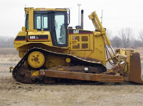 Used Bulldozer CAT D6R XL of 2006,Absolutely New