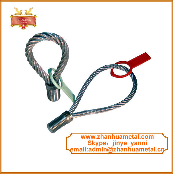 wire rope lifting loop for construcion