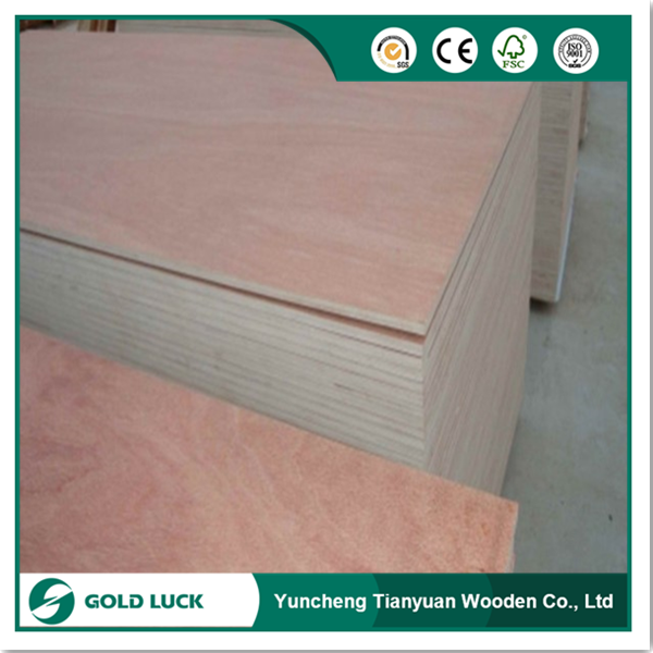 Okoume Veneer Commercial Plywood for Furniture Application