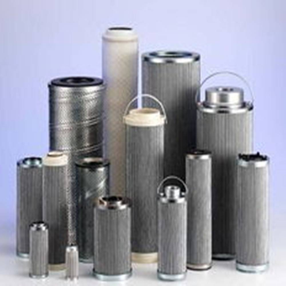 sintered filter cartridge