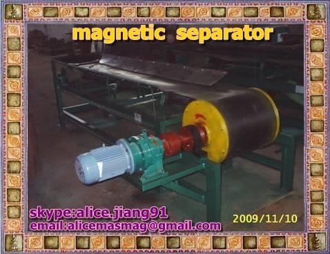 CTDG  Dry Drum Magnetic Separator  for  iron  ore