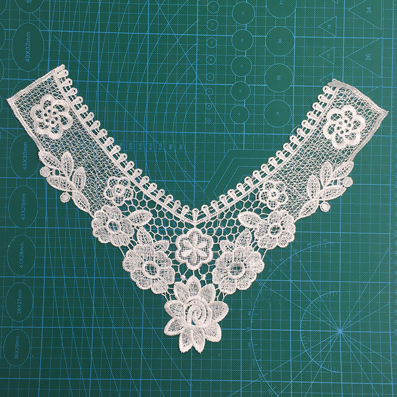 Embroidered Cotton Crochet Collar Lace/Necklace Collar Lace/Lace Collar