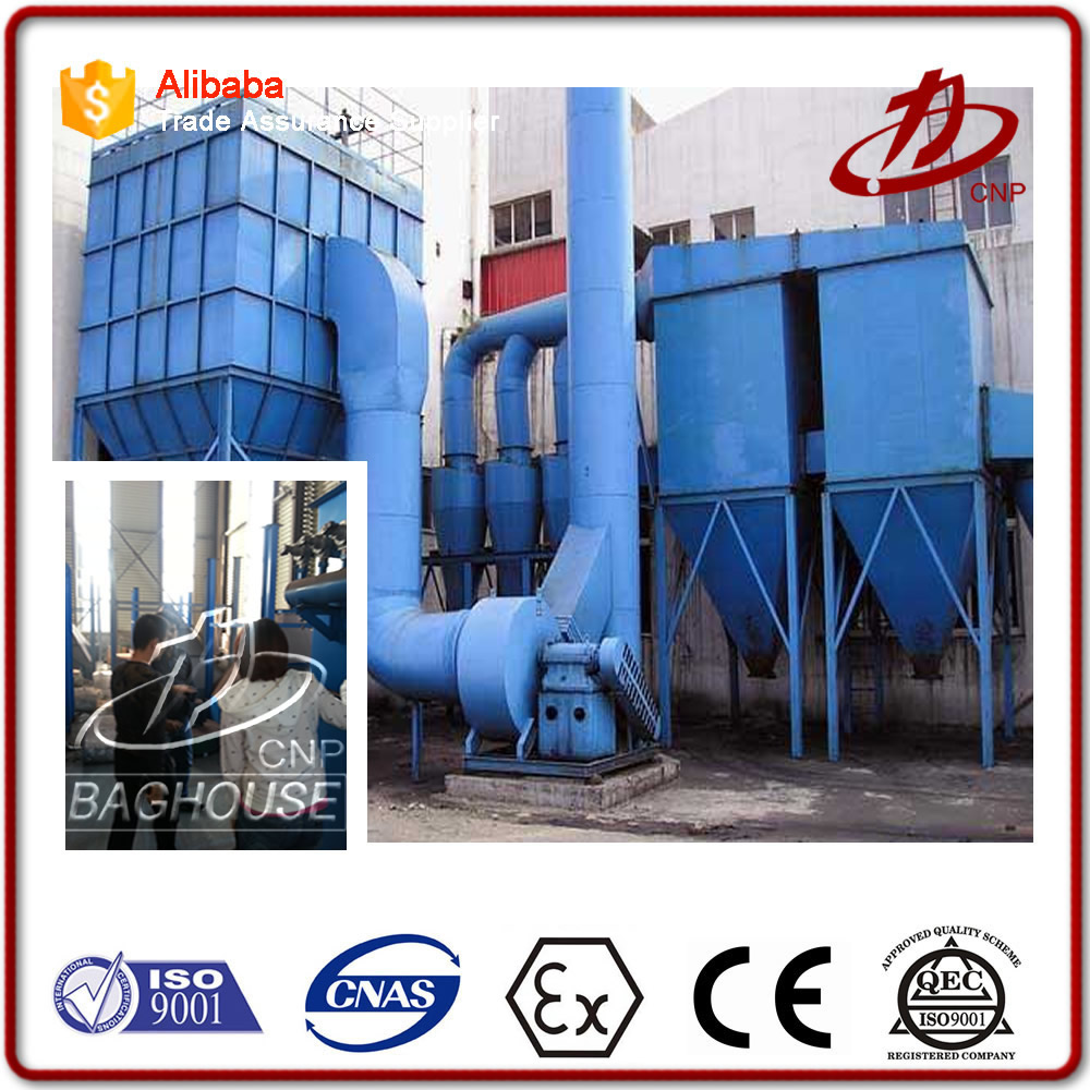 Pulse dust collector cement dust extraction