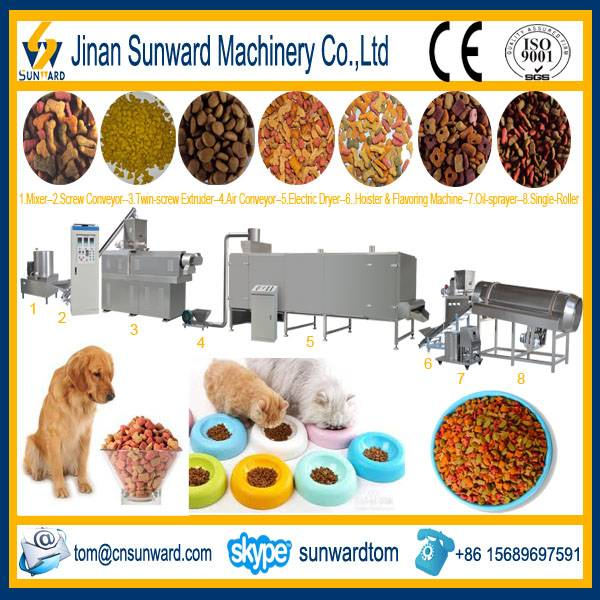 Pet Food Pellet Processing Machinery