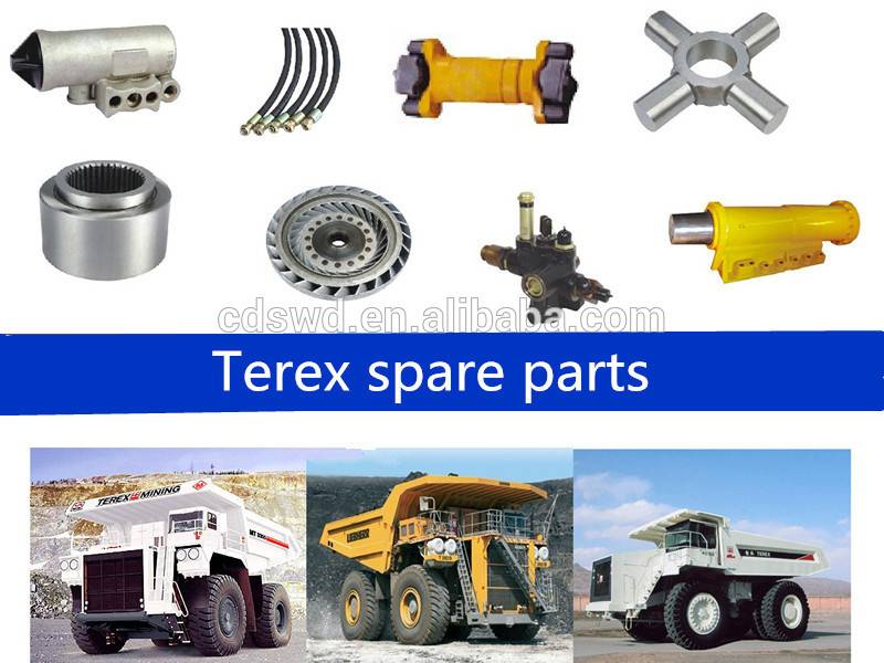 Dump truck parts for terex3305/3307/TR35/TR45/TR50/TR100