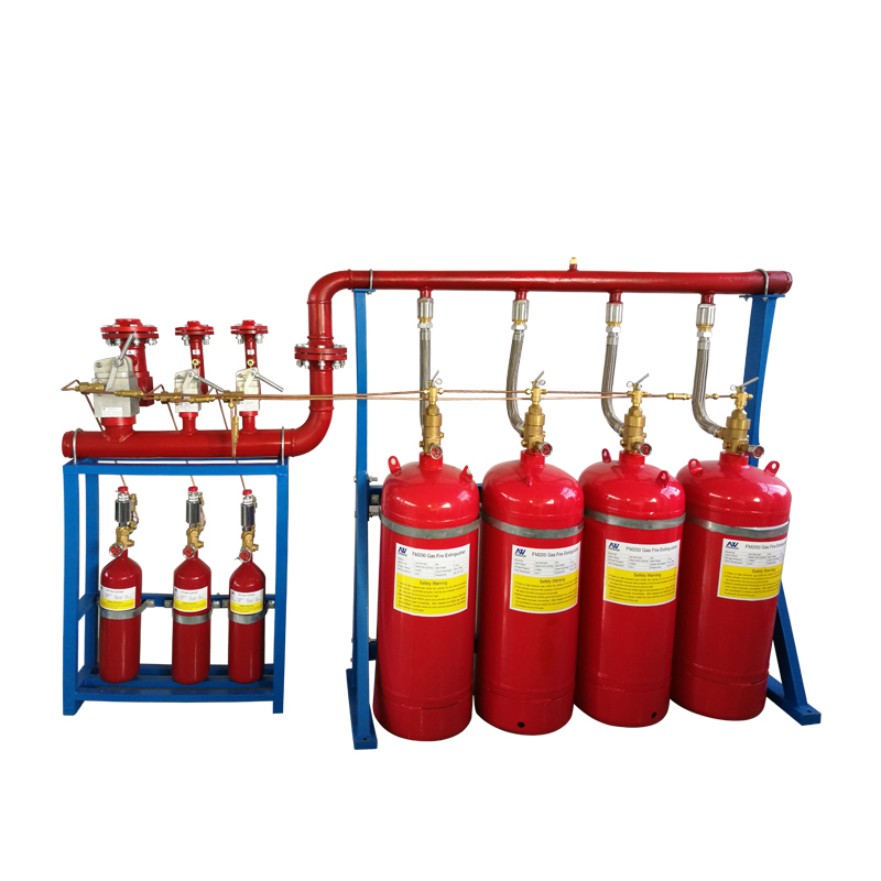 FM200 Gas Suppression fire fighting system Minifold type