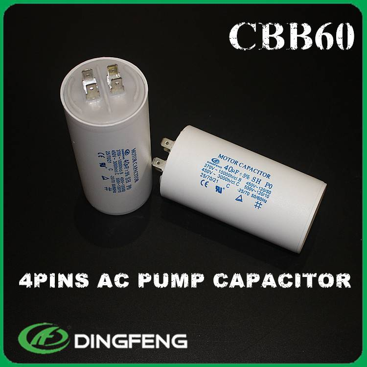 450v 45uf excelient stability of capacitance ac motor capacitor