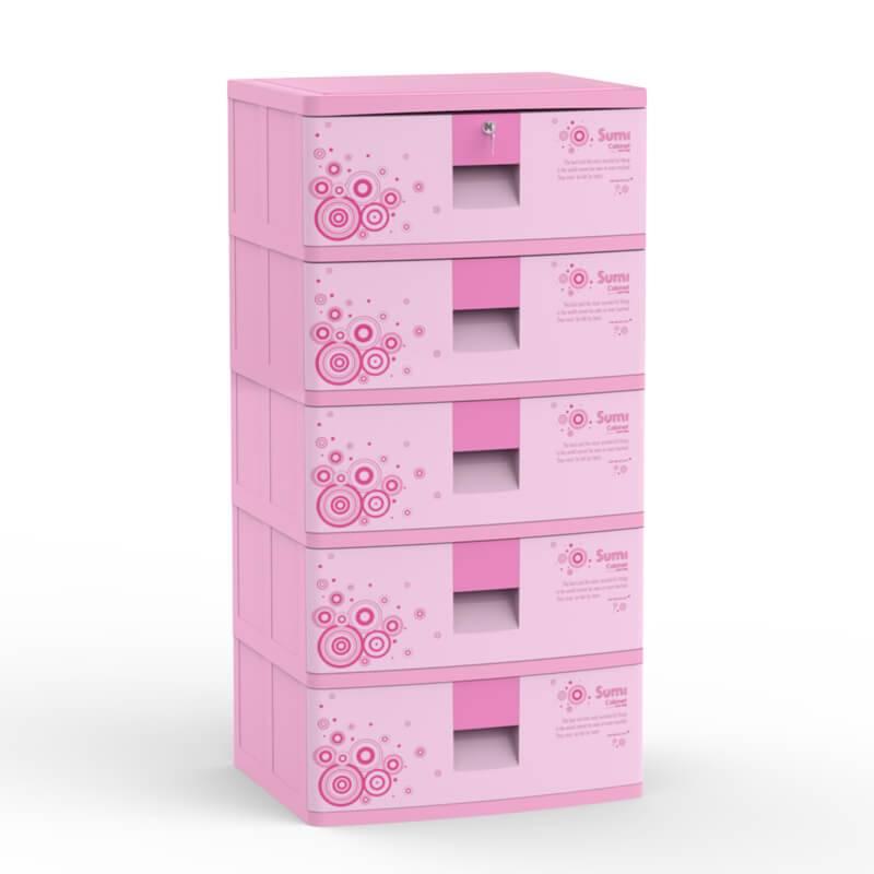 Plastic Children cabinet closet drawer for bedroom living room-Duy Tan Platics made in Vietnam
