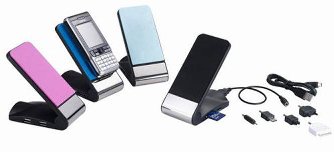 Usb Mobile Phone holder & charger