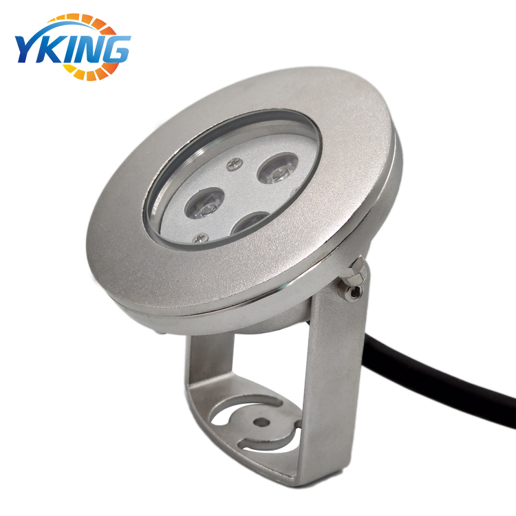 316L Stainless Steel 9W RGB LED Underwater Spot Lights