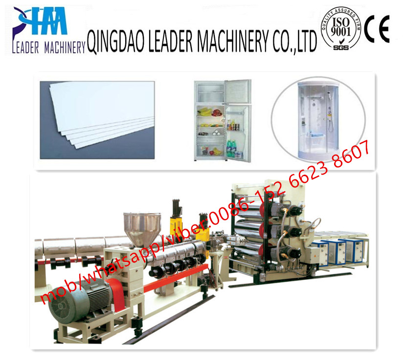 ABS HIPS refrigertor sheet/board extrusion line