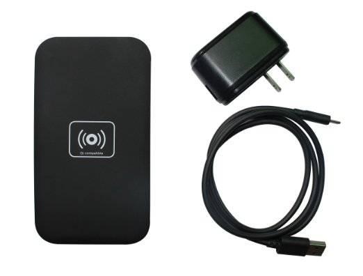 Black Fashion Wireless Charger Transmitter