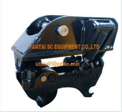 tilting quick hitch for SK40 excavator