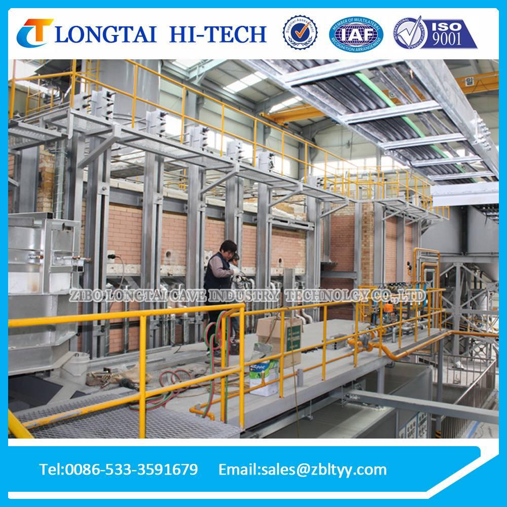 20-22 Tons Per Day Sodium Silicate Furnace Equipment