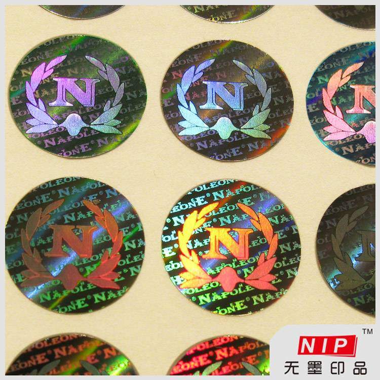 Custom Tamper Proof Hologram Stickers with sequential number