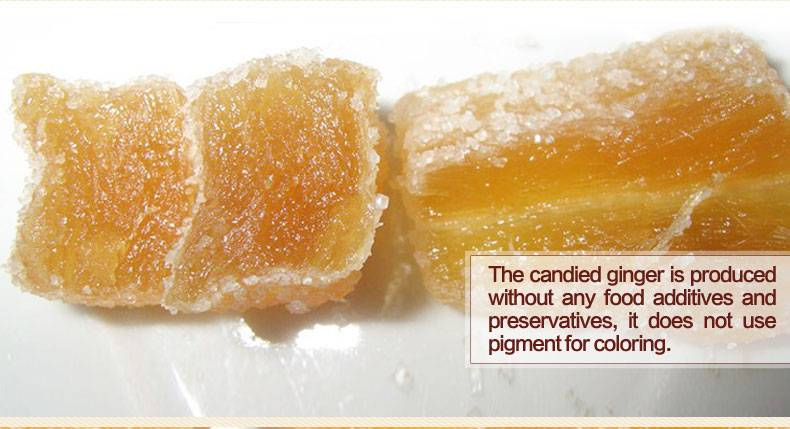 chinese speciallized candied crystallized ginger