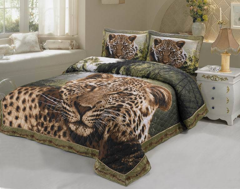 100% cotton 3D bedding set