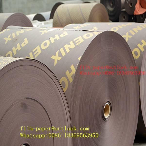 High grade phenolic laminated paper film surface