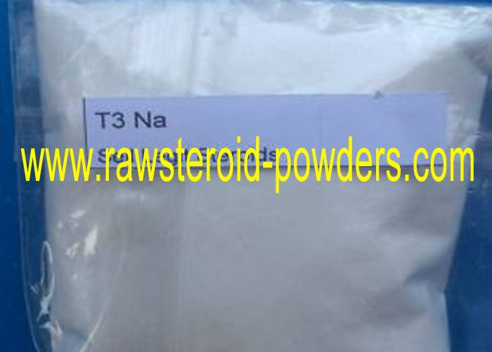 99% CAS:55-06-1 T3 Cytomel Injectable Anabolic Steroids Liothyronine sodium For Hypothyroidism Treat