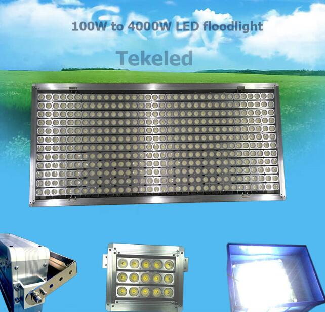 IP67 4000W LED flood light for stadium lighting , football filed , soccer field.