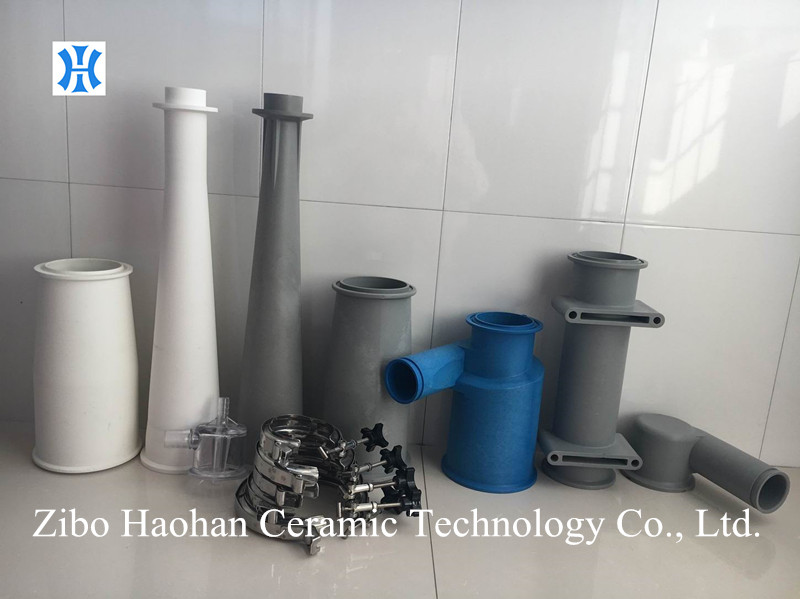 Alumina ceramic and nylon cone for Voith ECO 500L pulp cleaner