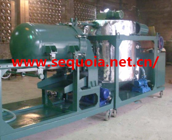 waste automobile oil purifier and regeneration system