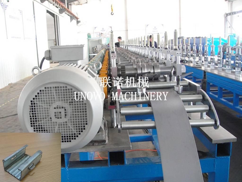 hot sale vineyard trellis post roll forming machine
