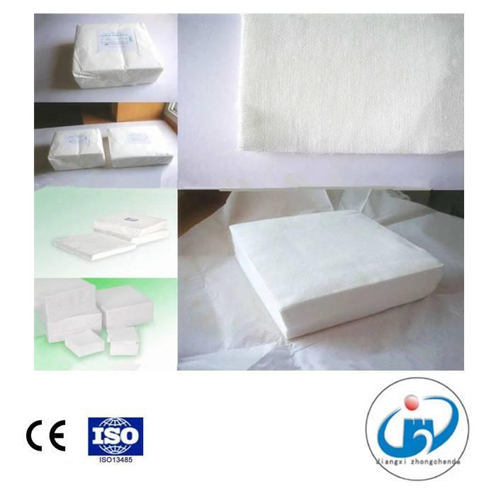 100% Bleached Cotton Cutting Gauze/Cutting Pad