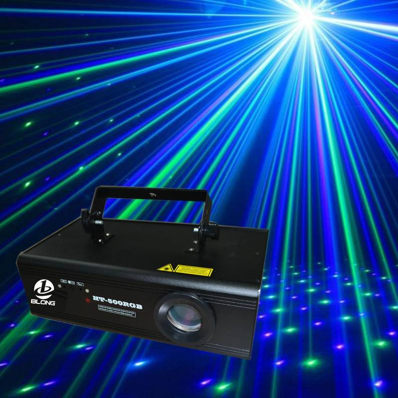 HT-500RGB full color stage laser light pro stage lighting equipment with high quality and various pa