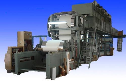 coated paper coating machine