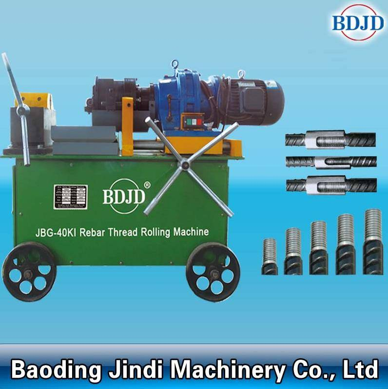 China golden supplier rebar threading machine hot sale steel rebar long threading machine