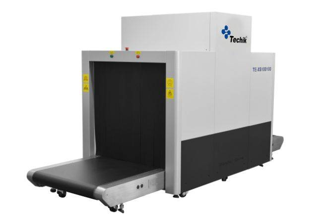 TE-XS100100X-ray baggage scanner