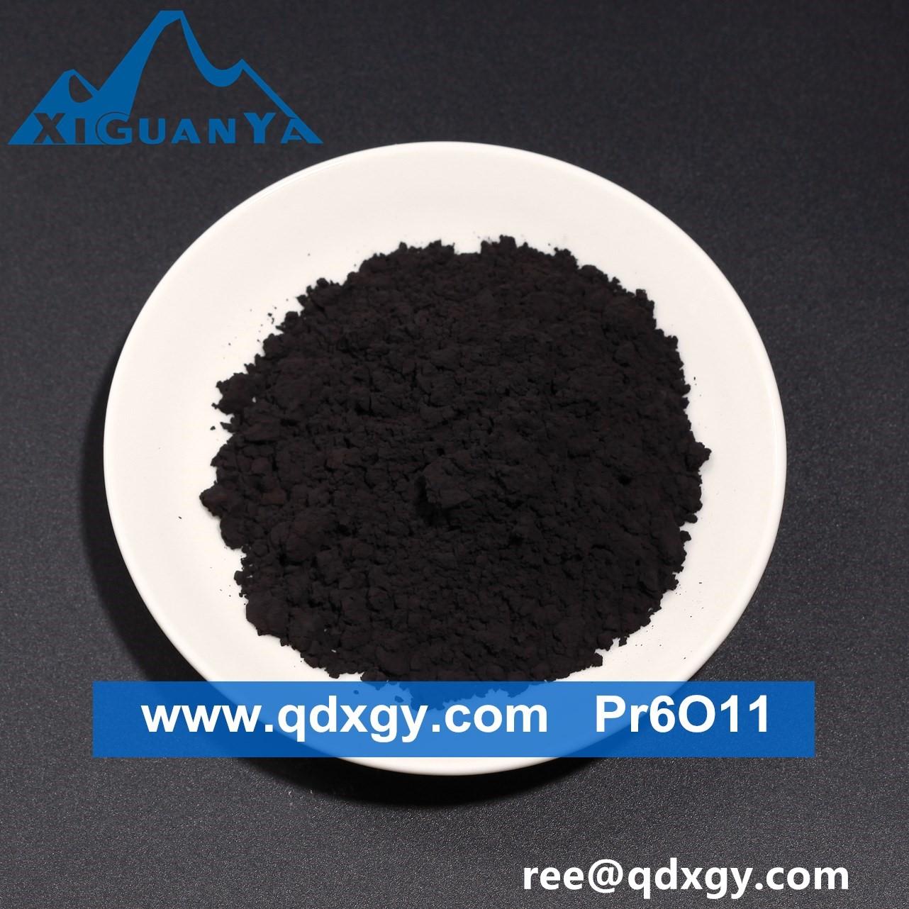 Praseodymium Oxide Powder 99.9 % to 99.95 % Pr6O11 price