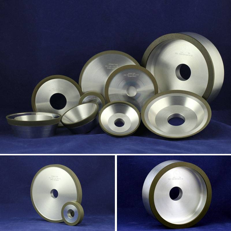 Diamond Grinding Wheels for Sharpening Carbide Cutters