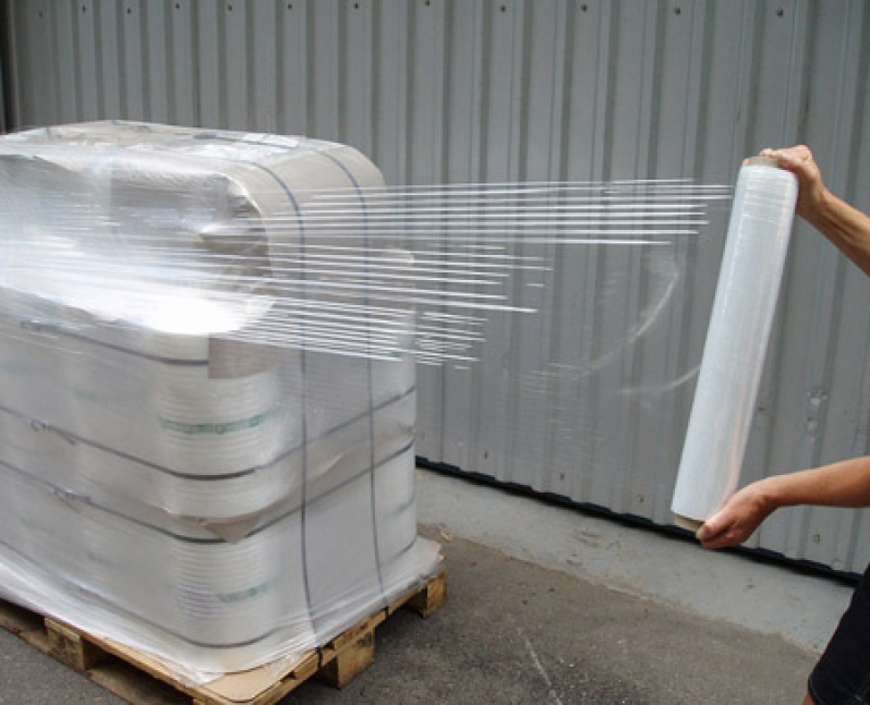 Casting pallet lldpe stretch wrap film