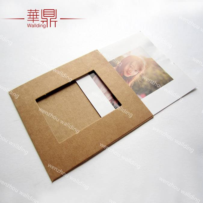 wholesale handmade funny natural kraft paper photo frames