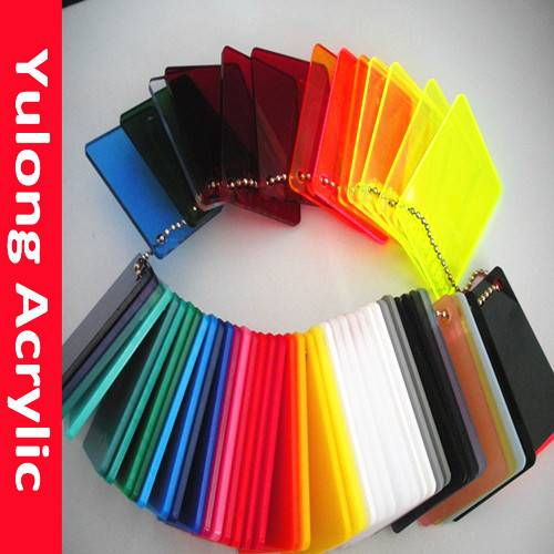 Popular 3mm color acrylic sheet