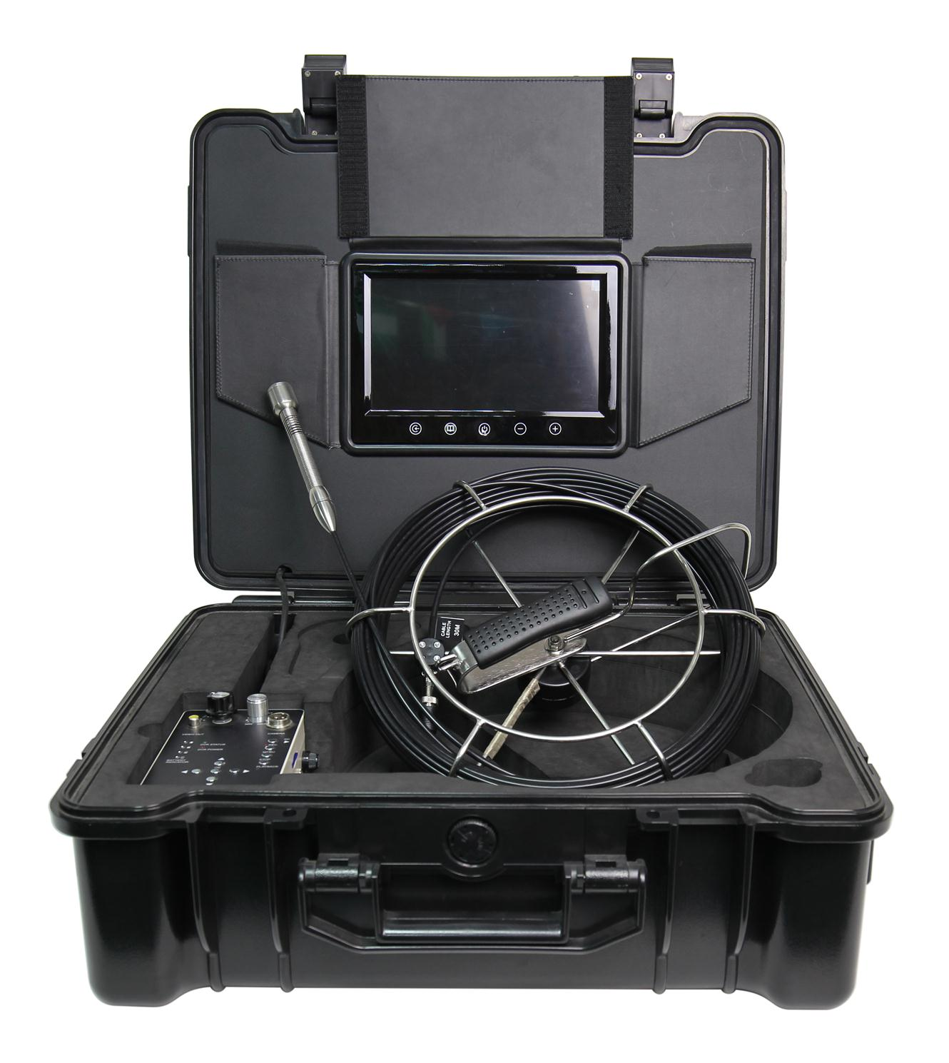 WOPSON pipe drain and sewer video inspection with 9inch monitor