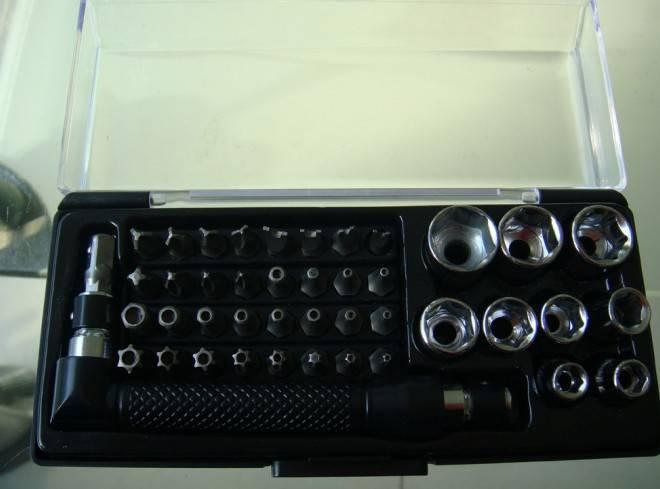 42-in-1Torx Phillips Bit,Portable Opening Tool Kit ,Socket Set Type Hand Tool Set