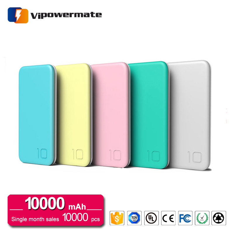 PT-114 10000mAh Candy Ultra Thin Power Bank