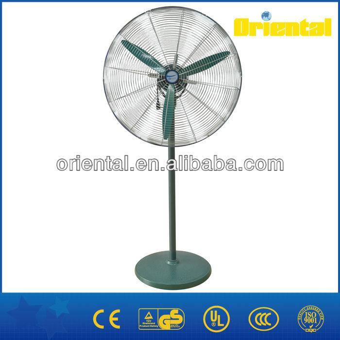Powerful floor industrial fan, metallic fan, industrial stand fan