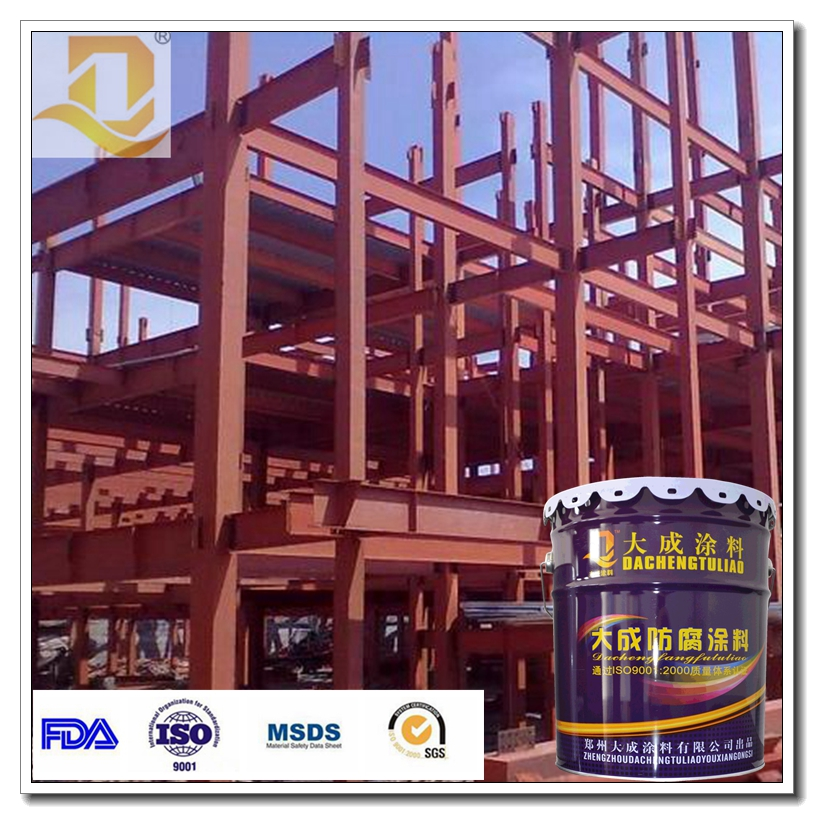 Steel structure fireproof paint