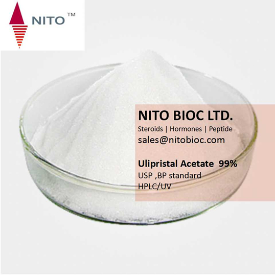 Promotional item Ulipristal Acetate 126784-99-4 pharmaceutical high quality