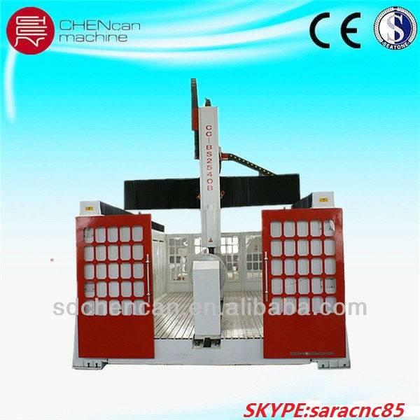 big size foam and wood molding cnc machinery