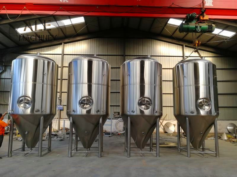 15 Gallons Stainless Steel Beer Brewing Equipment / Hot Liquor Tank With Herms Coil