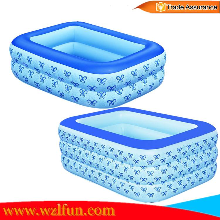 Portable inflatable baby swimming pool inflatable baby bath pool 2016 baby inflatable water pool