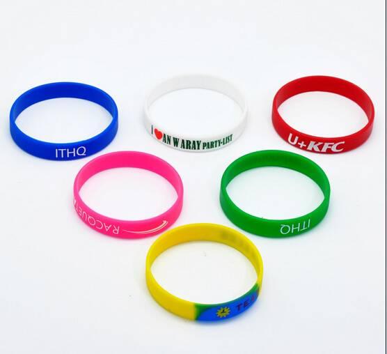 silicone bracelet,promotional gift wristband, christmas gift