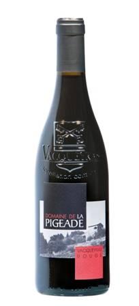 French Red Wine AOC Vacqueyras