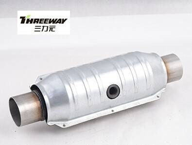 magnaflow catalytic converter with oxygen sensore and heat shell